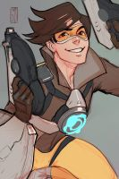 male!tracer by Emilyena