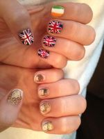 One Direction nails by ciencianalove