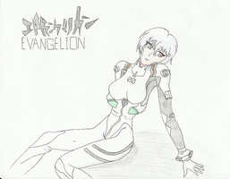 Evangelion - Rei Ayanami by ArchonofFate