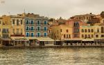 Autumn in the old Venetian port of Chania V by BillyNikoll
