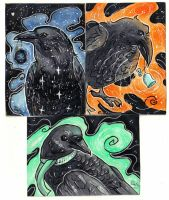 Crows ATC by LimehouseBlues