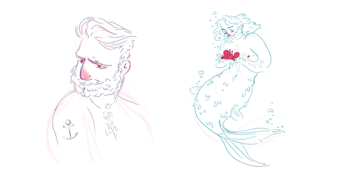 tumblr sketches by matthoworth