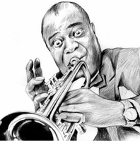 Louis Armstrong by gregchapin