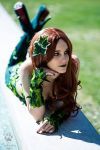 Poison Ivy...relaxing by LadyLessienFelagund