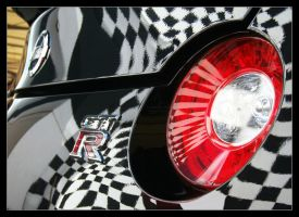 Black Nissan GT-R - Rear Light by TVRfan