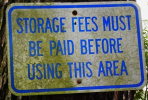 Storage Fees? by KDMB