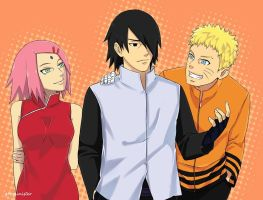 Team 7 (timeskip) by greysinister