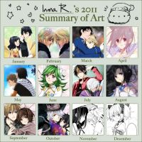 2011 art summary. by inma