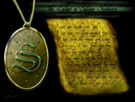 Locket of Slytherin by ajb3art