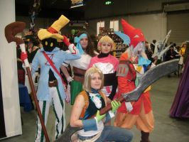 Expo 2010 - FF9 group minus 3 by AngelBless