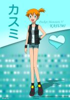 PKMN V - Misty A4 2 by Blue90