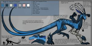 Reff sheet: Argo by Zukuro