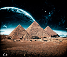 Egypt At Night by C-Lo-2012