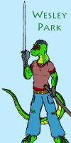 Wesley the Saurian by Midnight-Cobra