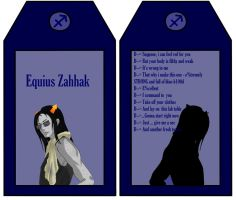 Equius Romantic Card by Ameistris