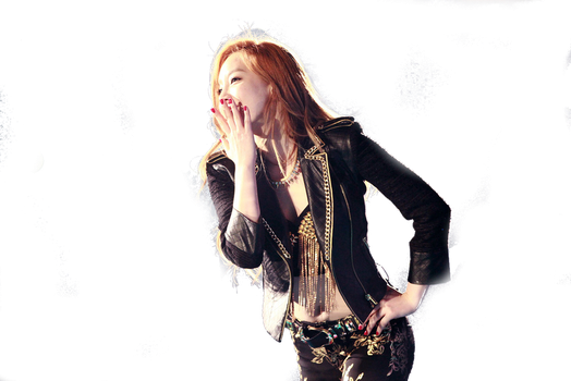 Taeyeon PNG by Sone402