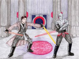 KotOR2 - the fools' duel by Star-Miya