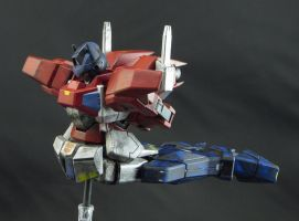 HG G-Exes  Ver. Prime [Battle Scuff] Alt Mode by AlmightyElemento