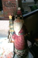 old Santa Claus figure by ingeline-art