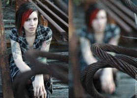 hatter train diptych by opioid