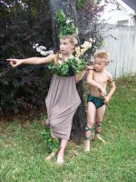 Woodland Fairy and Woodelf5 by SophStock