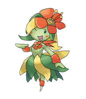 Mega Bellossom by locomotive111