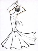 TRUMPET GOWN by fasyonish
