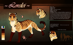 Complex Design and Reference double Commission by Capukat