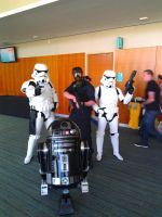 NF Comicon : Me and Stormtroopers by TheWarRises