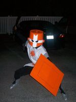 Halloween '10: Orange Knight by Iron-KoolaidMan