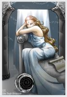 Tarot - The High Priestess by livska