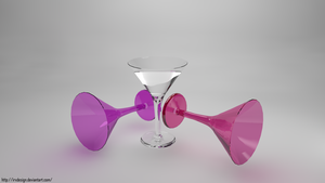 Cocktail Glass by IRXDESIGN