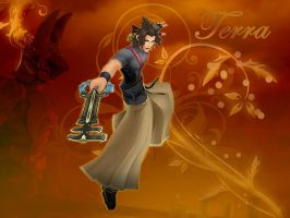 Kingdom hearts Terra by LumenArtist