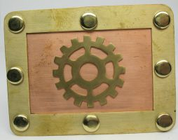Steampunk Belt Buckle by Utinni