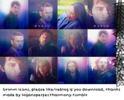 Grimm Icons by iloveusis