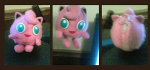 Jigglypuff: Money Pouch Key-Chain by Jacklave