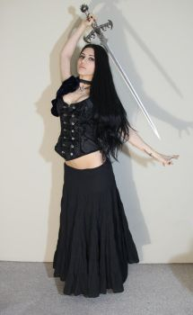 Stock - Gothic - Dance Of The Blade by Mahafsoun