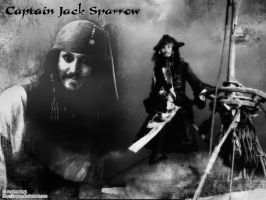 Captain Jack Sparrow by S-Pan
