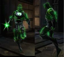Kaznas The Cosmic Green Lantern by Existent-effigy