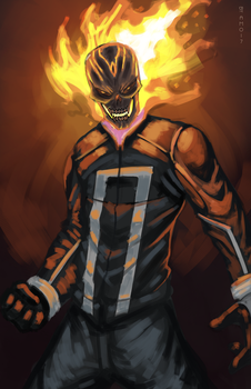 Ghost Rider by AMO17