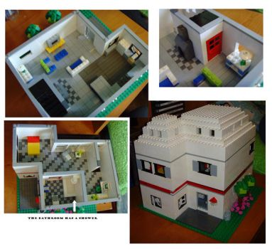 another lego house by legochick08