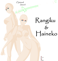 Rangiku and Haineko by anime-fan-addict