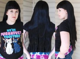 black wig for sale by ChelseaHavoc