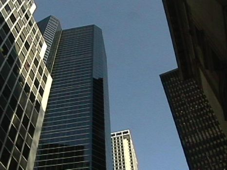 buildings towering over me by the-revolution