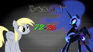 Pony Kombat 2 Round 2, Battle 6 (Result) by Macgrubor