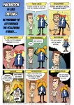 Comics about Facebook by sidan