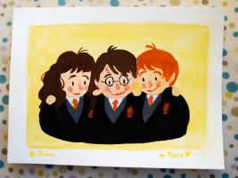 Potter Pals by breebird
