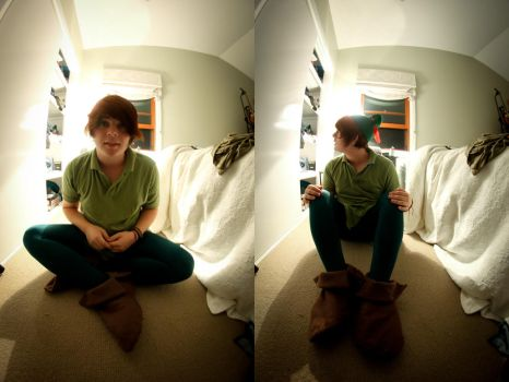Peter Pan Cosplay by iw0ntgiveuponyou