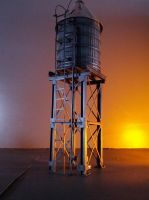 FINISHED WATER TOWER. by Ogun-Ryu