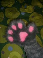 Nyan Cat Paw by toberkitty